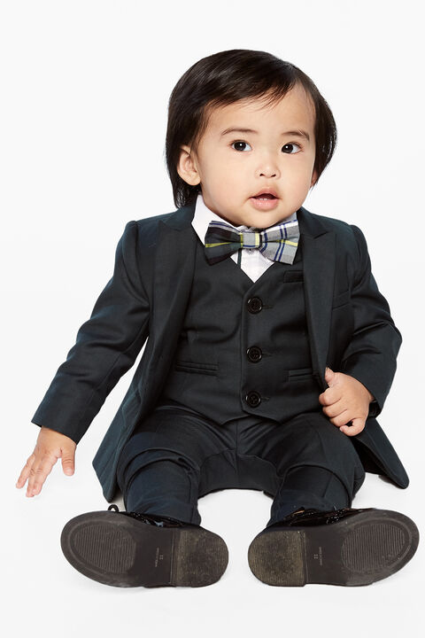 BABY BOY classic suit vest in colour SYCAMORE