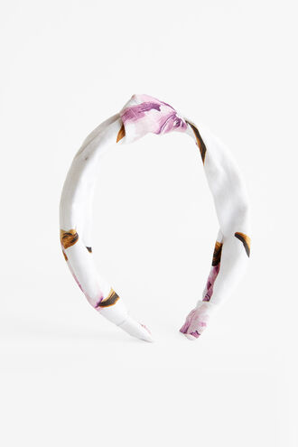 IVY KNOT HEADBAND in colour PARADISE PINK