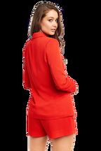MALIBU BLAZER in colour CHERRY TOMATO