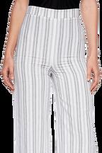 LARISSA STRIPE PANT in colour CLOUD DANCER