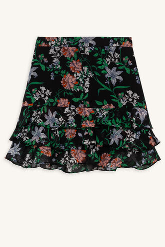 POSY RA-RA SKIRT in colour CAVIAR