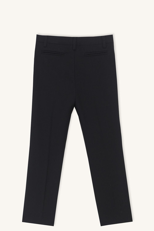 junior boy OSCAR SUIT PANT in colour JET BLACK