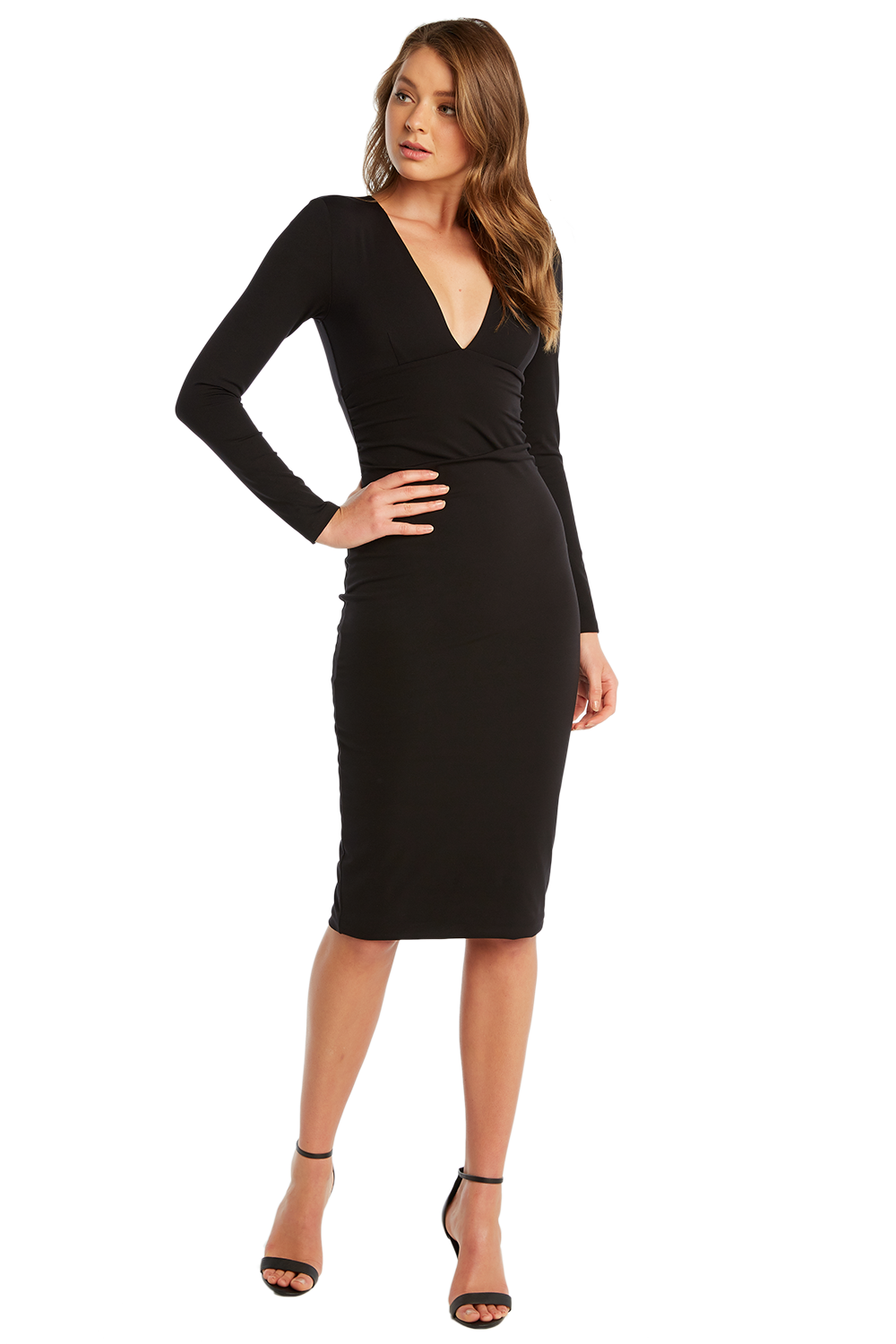 f44aee45 Ali Long Sleeve Dress | Ladies Clothing & Dresses | Bardot
