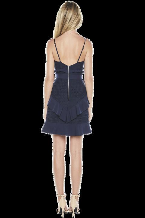 FAE LACE DRESS in colour DRESS BLUES