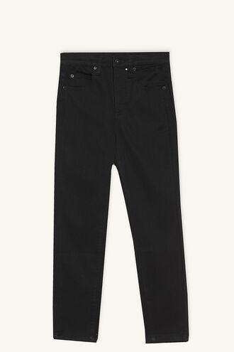 BLACKOUT SKINNY JEAN in colour JET BLACK