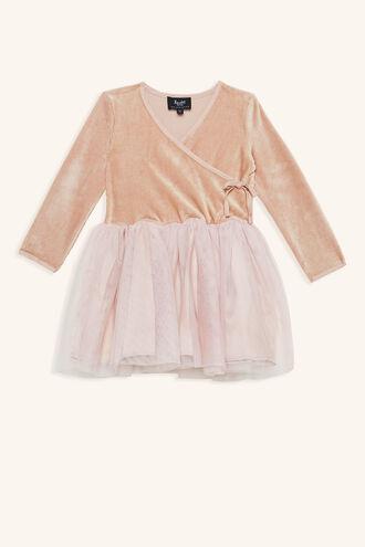 WRAP BALLET DRESS in colour LOTUS
