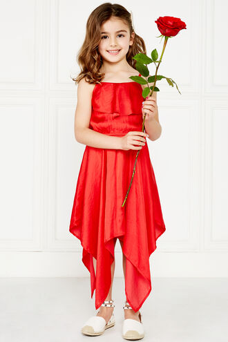 MILA HANKY DRESS in colour LOLLIPOP