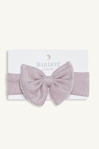 LU LU BABY HEADBAND in colour DUSTY PINK