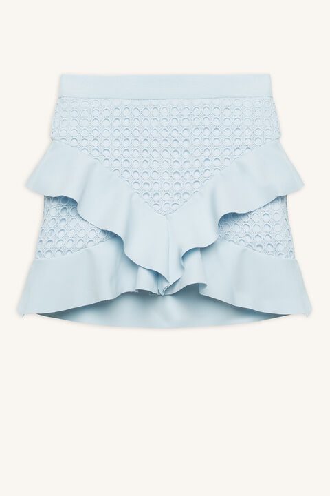 FAE LACE SKIRT in colour BALLAD BLUE