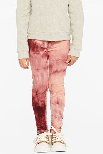 TIE DYE LEGGING in colour MAUVEWOOD