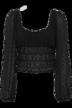 JULIANNA TOP in colour CAVIAR