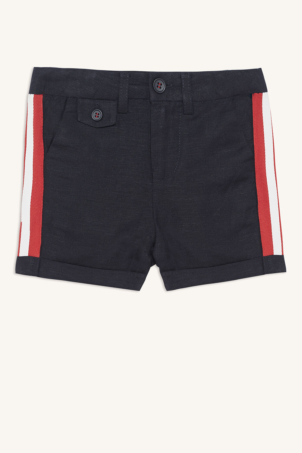 baby boy sport tailor short in colour DRESS BLUES