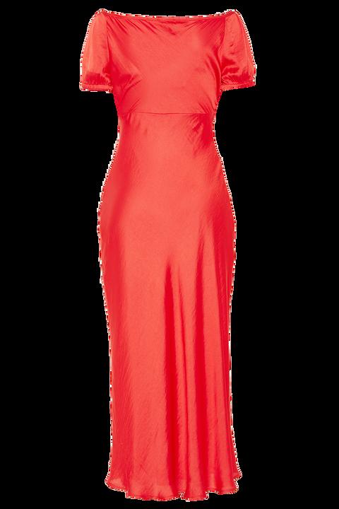 IRINA MIDI DRESS in colour FIESTA