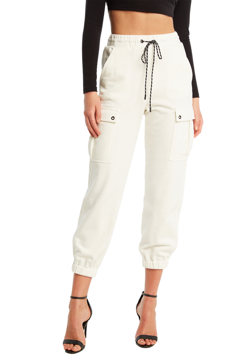 CARGO TRACKIE in colour BRIGHT WHITE