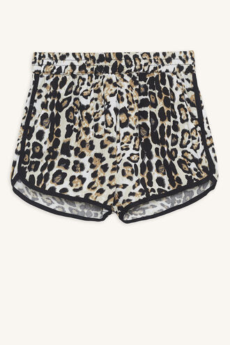 LEOPARD SHORT in colour BUTTERUM