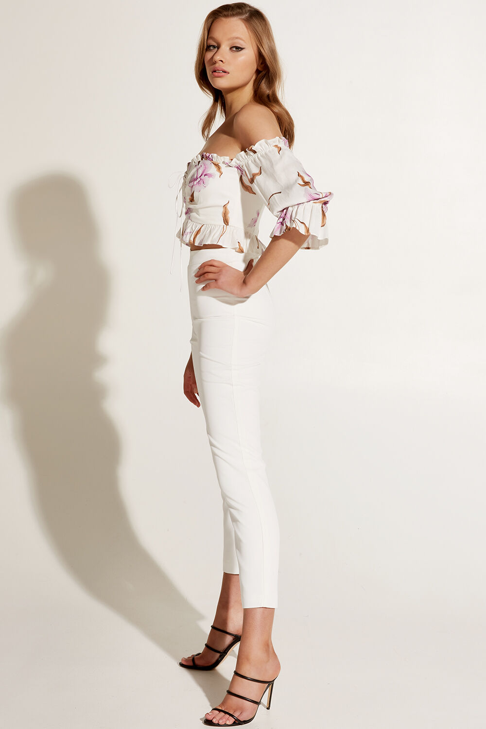 ORELLA TOP in colour BLANC DE BLANC