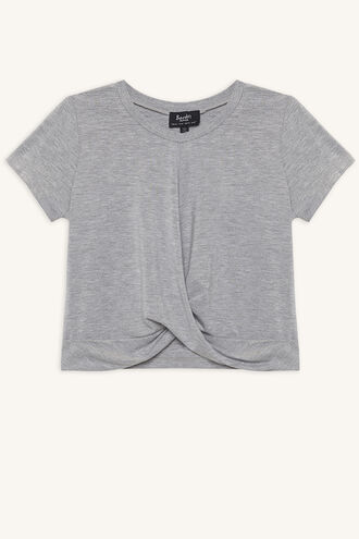 MILEY TWIST TEE in colour MOONBEAM