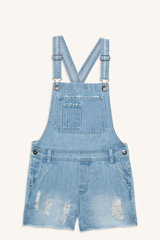 TRASH DUNGAREE OVERALL in colour TRUE NAVY