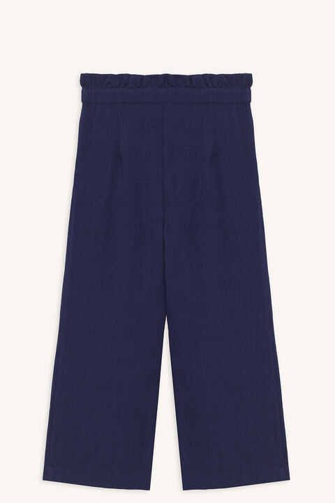 NATALIE CULLOTE PANT in colour PATRIOT BLUE