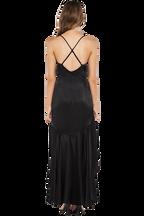 ARELLA DRESS in colour CAVIAR
