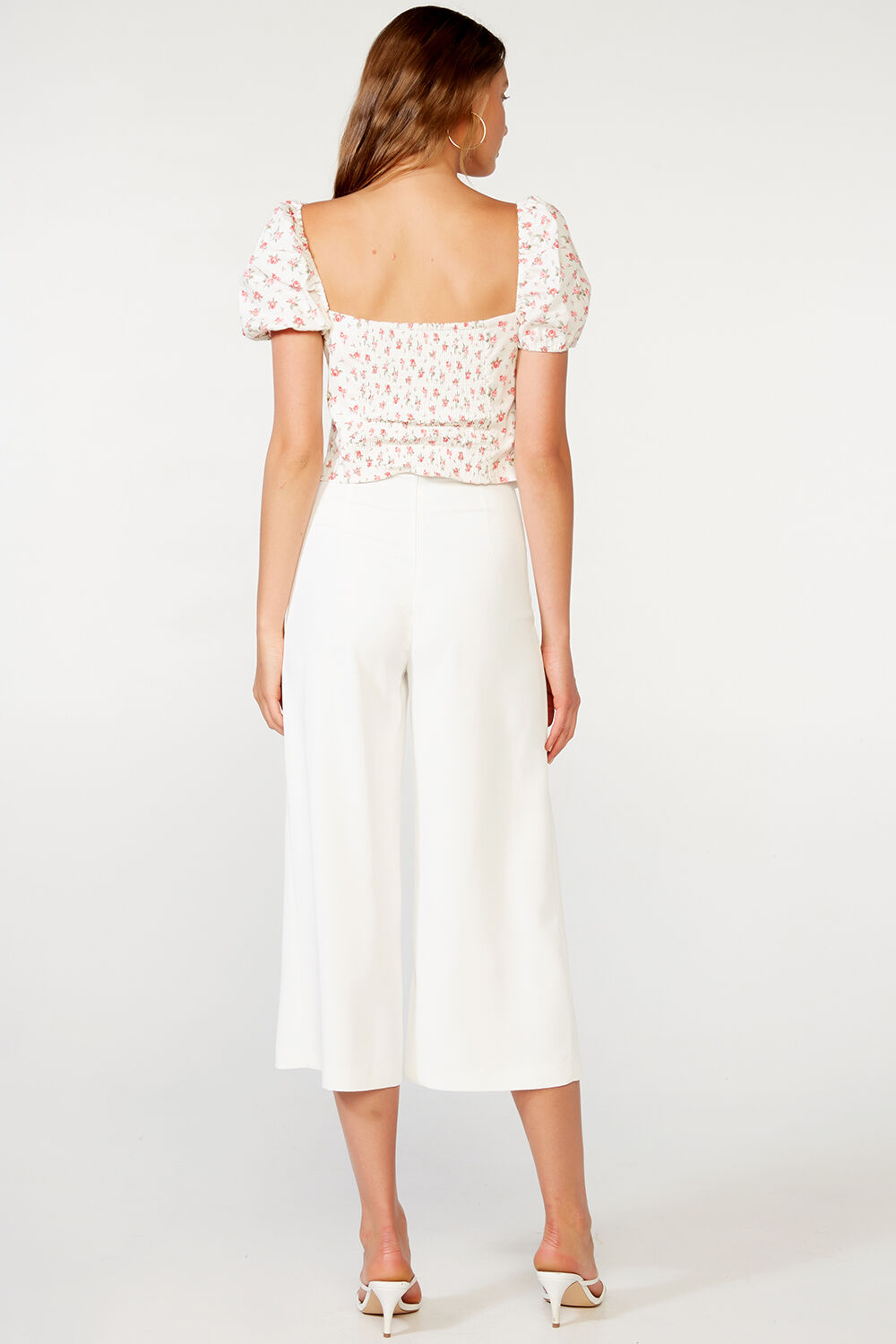 ROSA TOP in colour STAR WHITE