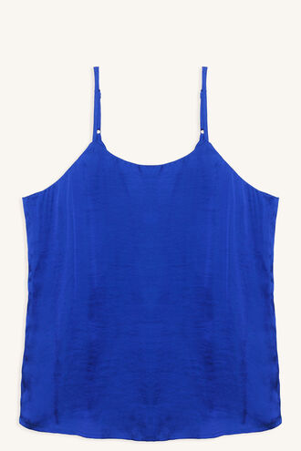 SPARKS FLY CAMI in colour VICTORIA BLUE