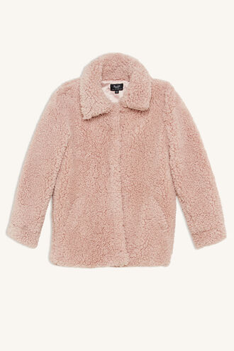 MILLY SOFT JACKET in colour ZEPHYR