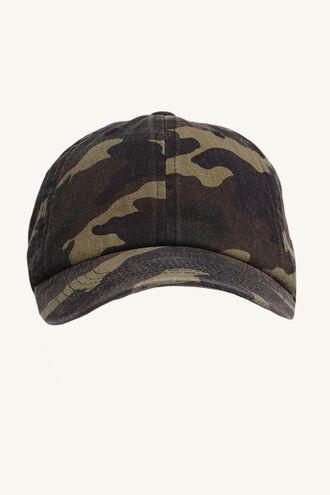 CAMO CAP in colour BRIGHT WHITE