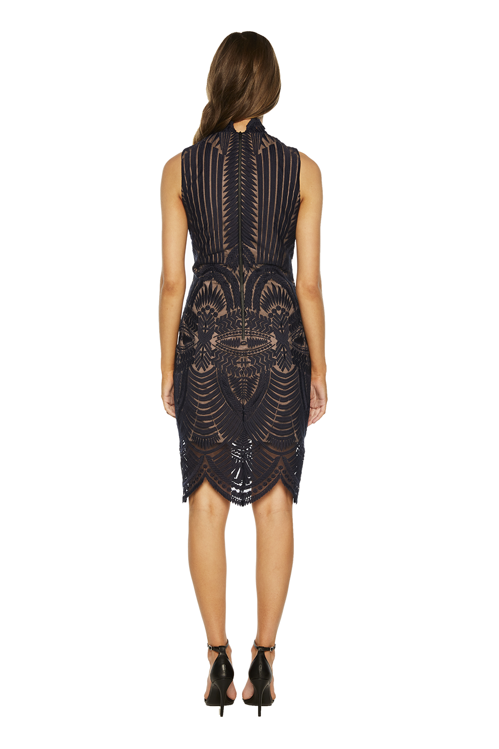 ALICE LACE DRESS in colour ECLIPSE