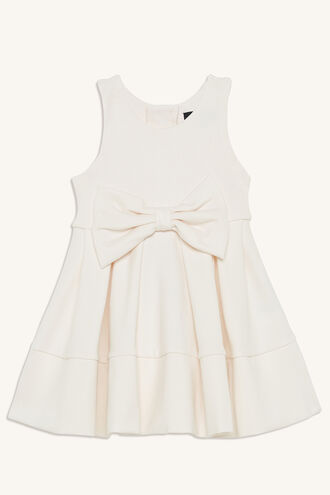 AVA PONTE DRESS in colour SOFT PINK