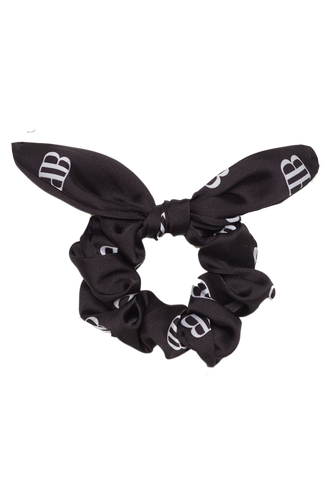 BARDOT LOGO SCRUNCHIE in colour METEORITE