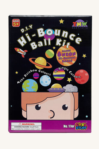 HI BOUNCE BALL KIT in colour BRIGHT WHITE