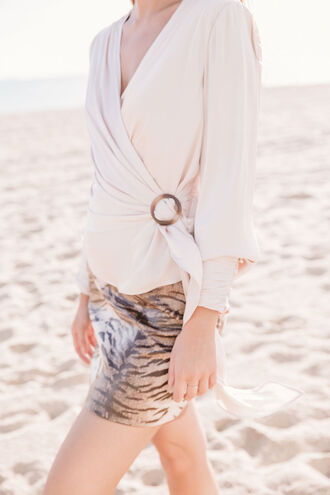 ILIANA RING TOP in colour PALE DOGWOOD