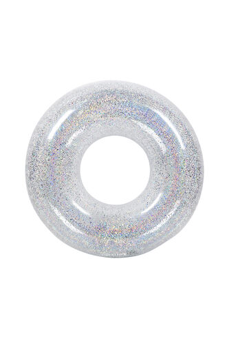 Pool Ring Glitter in colour BRIGHT WHITE
