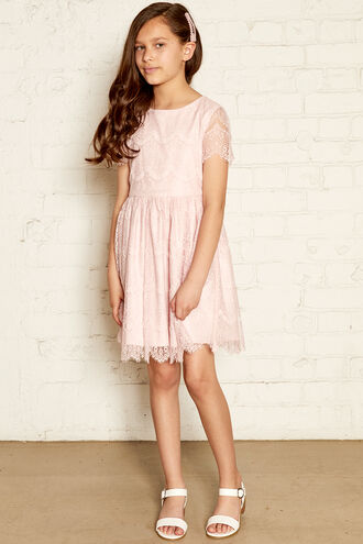 MARGOT LACE DRESS in colour POTPOURRI