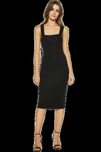 MIMI DRESS in colour CAVIAR
