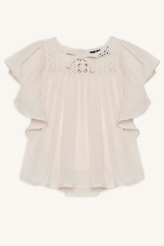 ANGEL TOP in colour HEAVENLY PINK