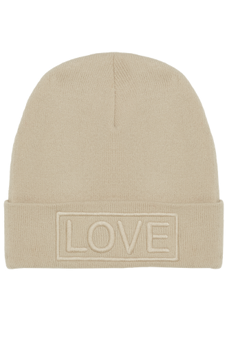LOVE HAT in colour BEIGE