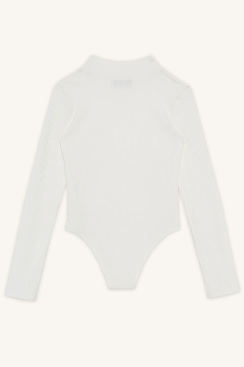 MELEODY BODYSUIT in colour CLOUD DANCER