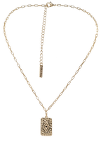 BERMUDA NECKLACE in colour GOLD EARTH