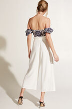 NATALIA CULOTTE PANT in colour CLOUD DANCER