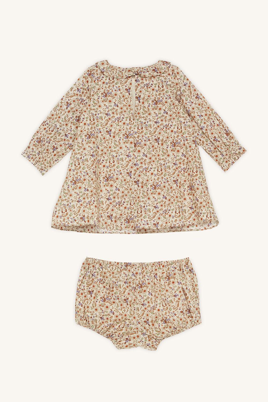 JOANIE DRESS SET in colour BIRCH