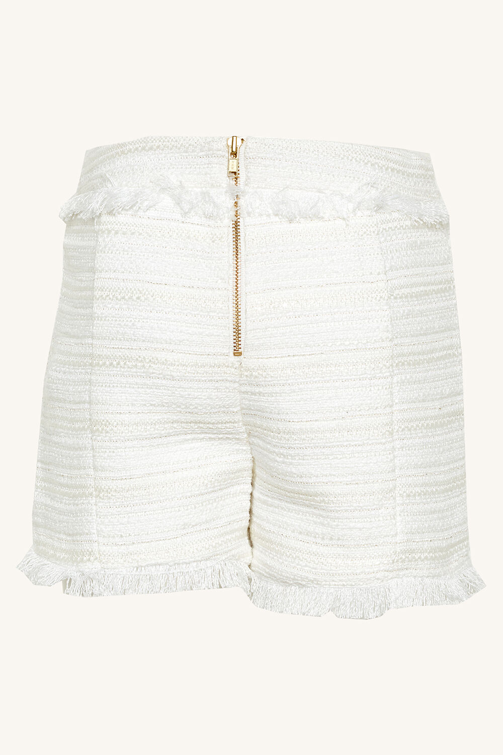MARIS BOUCLE SHORT in colour BRIGHT WHITE
