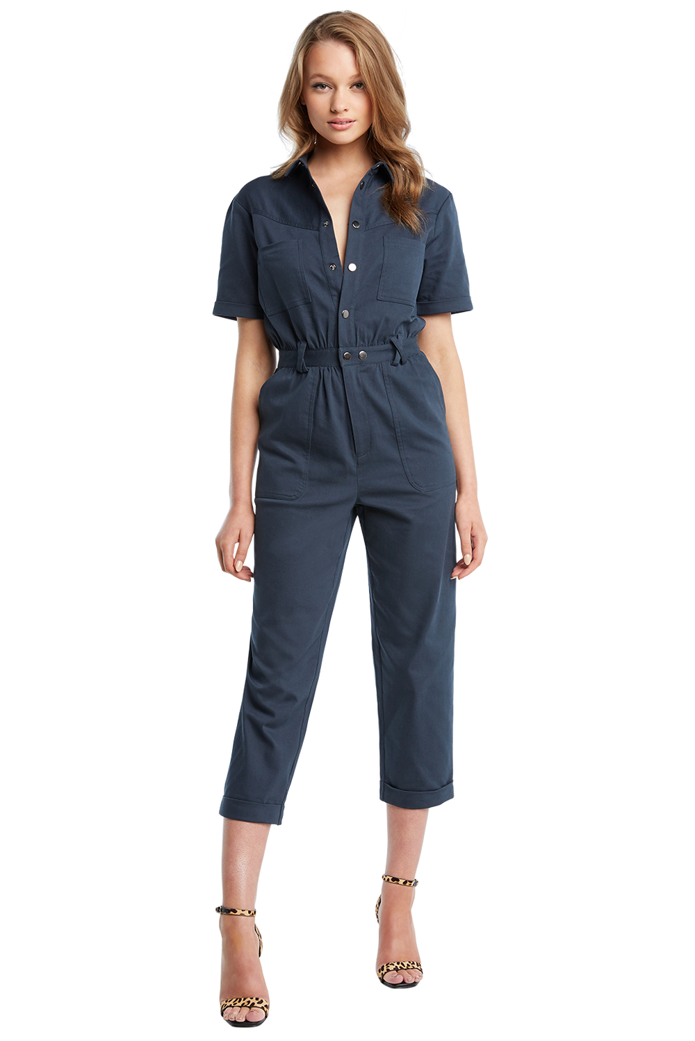 STAR GAZER JUMPSUIT in colour DEEP WELL