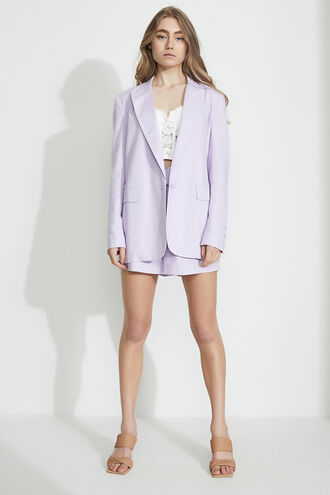 CHARLIE CASUAL BLAZER in colour GRAY LILAC