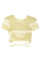 MARIYAH TOP in colour LIMELIGHT