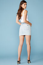 BEY DENIM SKIRT in colour WINTER SKY