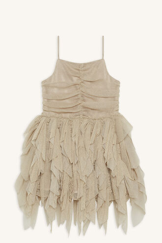 EMILEA TUTU DRESS in colour FROSTED ALMOND
