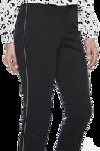 SIENNA TRIM PANT in colour CAVIAR