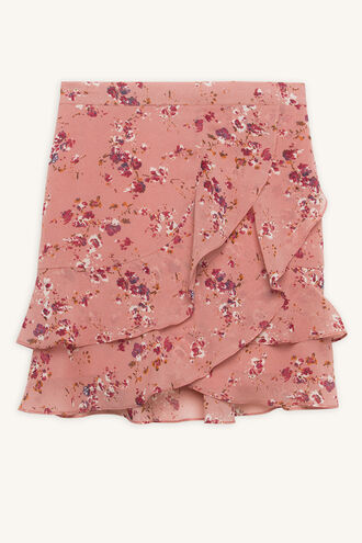 BREE FRILL SKIRT in colour ROSE SMOKE
